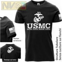 Maglia T-SHIRT Payper Militare NAVY SEALS FROGMEN Skull USA Maglietta Uomo BK