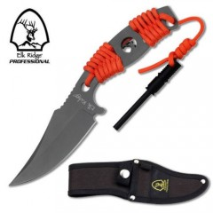KNIFE COLTELLO DA CACCIA ELK RIDGE PRO 01T SURVIVOR CON ACCIARINO FUOCO SURVIVAL