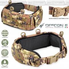 Cinturone Imbottito Tattico con Sistema MOLLE DEFCON 5 MB02 Militare Vegetato VI