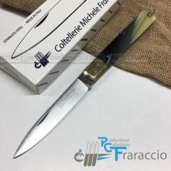 COLTELLO SICILIANO ARTIGIANALE FRARACCIO MADE IN ITALY 100% CACCIA FOLDING 21cm