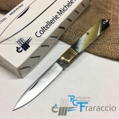 COLTELLO SICILIANO ARTIGIANALE FRARACCIO MADE IN ITALY 100% CACCIA FOLDING 15cm
