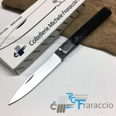 COLTELLO SICILIANO ARTIGIANALE FRARACCIO MADE IN ITALY CACCIA FOLDING BK 21cm