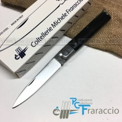COLTELLO SICILIANO ARTIGIANALE FRARACCIO MADE IN ITALY CACCIA FOLDING BK 19cm