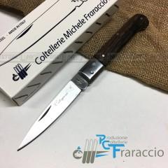 COLTELLO CALTAGIRONE ARTIGIANALE FRARACCIO MADE IN ITALY 100% Manico Wengè cm 20