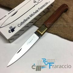 COLTELLO CALTAGIRONE ARTIGIANALE FRARACCIO T.OTT MADE IN ITALY CACCIA FOLDING 23