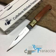 COLTELLO CALTAGIRONE ARTIGIANALE FRARACCIO T.OTT MADE IN ITALY CACCIA FOLDING 20