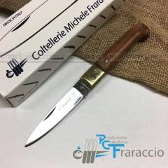 COLTELLO CALTAGIRONE ARTIGIANALE FRARACCIO T.OTT MADE IN ITALY CACCIA FOLDING 17