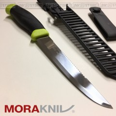 KNIFE COLTELLO MORA MORAKNIV FISHING SCALER 150 CACCIA PESCA PESCATORE SURVIVOR