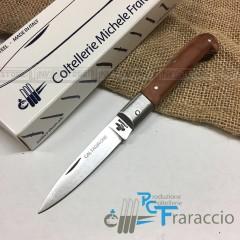 COLTELLO CALTAGIRONE ARTIGIANALE FRARACCIO MADE IN ITALY 100% CACCIA FOLDING 17