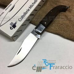 COLTELLO SCARPERIA WENGE' INOX ARTIGIANALE FRARACCIO MADE IN ITALY FOLDING 20 cm