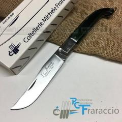 COLTELLO CACCIA ZUAVO ARTIGIANALE FRARACCIO **MADE IN ITALY** Resinato cm 21