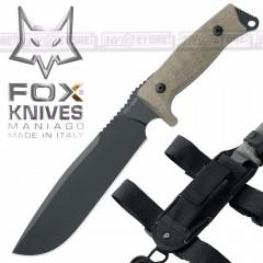 KNIFE COLTELLO FOX KNIVES MANIAGO 133MGT ORIGINALE MADE IN ITALY CACCIA SURVIVOR