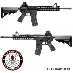 Fucile Elettrico G&G Armament TR15 Raider XL GG29SCB M4 Softair