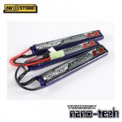 Batteria Lipo TURNIGY NANO TECH 11,1 V 2000 mAh 15-25C Tamiya per Fucili Softair
