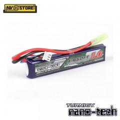 Batteria Lipo TURNIGY NANO TECH 7,4 V 1000 mAh 20-40C Tamiya per Fucili Softair