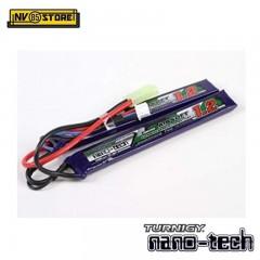 Batteria Lipo TURNIGY NANO TECH 7,4 V 1200 mAh 25-50C Tamiya per Fucili Softair