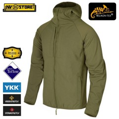 Softshell HELIKON-TEX Urban Hybrid Jacket Giacca Softair Militare Adaptive Green