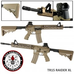 G&G TR15 Raider XL Blow-Back GG29SCT Fucile Elettrico M4 Softair
