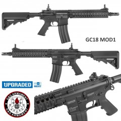 G&G GC18 MOD1 Upgraded Mosfet Fucile Elettrico MK18 Softair Black