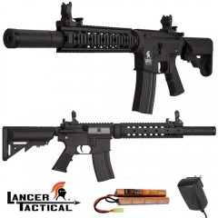 Lancer Tactical SD M4 AEG LT15-BL Gen2 Fucile Elettrico Softair