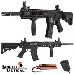 Lancer Tactical M4 RIS EVO LT12-BL Gen2 Fucile Elettrico Softair