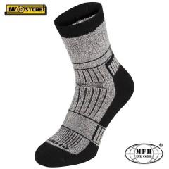 """Calze Termiche MFH Thermo Socks """"Alaska"""" Invernali Imbottite Tecniche Grey Sport"""
