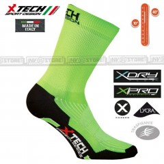 Calze Tecniche X-TECH SPORT Prof X-Carbon X-Dry X-Pro Made in Italy 100% Socks V