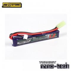 Batteria Lipo TURNIGY NANO TECH 7,4V 1200mAh 25-50C Tamiya per Fucili Softair B