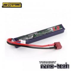Batteria Lipo TURNIGY NANO TECH 7,4V 1200mAh 25-50C T-DIN per Fucili Softair A