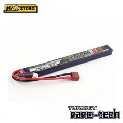 Batteria Lipo TURNIGY NANO TECH 7,4V 1300mAh 25-50C T-DIN per Fucili Softair A