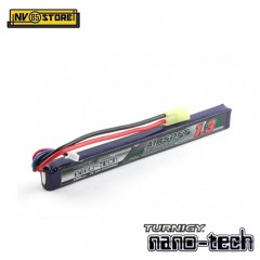 Batteria Lipo TURNIGY NANO TECH 7,4V 1300mAh 25-50C Tamiya per Fucili Softair A
