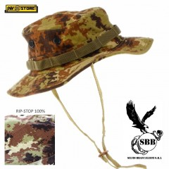 Bush Boonie Hat US GI Cappello Militare Jungle SBB Softair Cap VEGETATO ITA