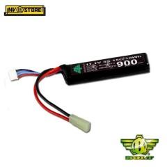 Batteria Lipo Li-Po BOLT AIRSOFT 3S 11,1V 900mAh 15C Tamiya per Fucili Softair A