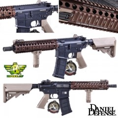 BOLT MK18 Daniel Defence *OFFICIAL LICENSED* Fucile Elettrico 6mm Dual Tone