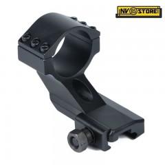 Attacco Alto Anello per Torcia Ottica da 30 mm per Slitta Weaver Fucile Carabina