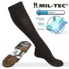 Calze COOLMAX MILTEC Traspiranti Socks Socken 4 STAGIONI Imbottite Tecniche BK