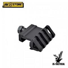 Slitta Angolare Rialzo da 22 mm per Fucile Slitta Weaver Picatinny per Torcia