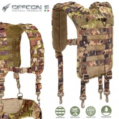 Bretelle per Sistema Suspender DEFCON 5 Loading Harness Bearing MOLLE Vegetato