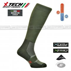 Calze Termiche Tecniche X-TECH SPORT Made in Italy 100% Thermo Socks WG
