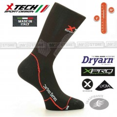 Calze Tecniche X-TECH SPORT XT12 Dryarn Carbon Resistex XPro Made in Italy 100%