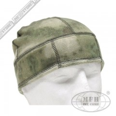 Cappello Militare Berretto MFH A-TACS FG Fleece Softair Caccia Military Cap