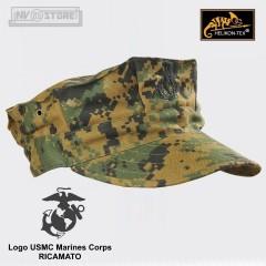 Cappello CAP Marines Corp Marpat USMC 100% Originale *HELIKON-TEX* Logo RICAMATO