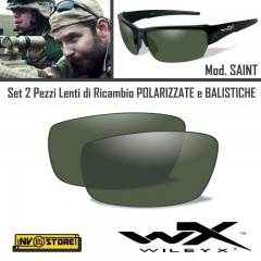Lenti di Ricambio per Occhiali WILEY-X SAINT Polarized Green Lens Polarizzate