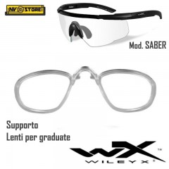 WILEY-X RX INSERT Supporto per Lenti Graduate Vista per Saber, Vapor, Rogue, ecc