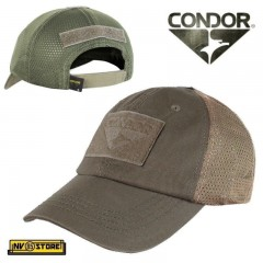 CAPPELLO BERRETTO MESH CONDOR TACTICAL CAP ORIGINALE US ARMY MILITARE SOFTAIR BW