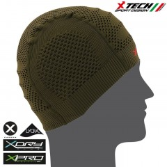 Cappello CAP Berretto Cuffia X-TECH XT99G Made in Italy 100% TRASPIRANTE Outdoor
