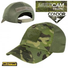 CAPPELLO BERRETTO CONDOR MULTICAM TROPIC ORIGINALE US ARMY MILITARE SOFTAIR BK