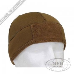 Cappello Militare Berretto MFH Coyote TAN Fleece Softair Caccia Military Cap