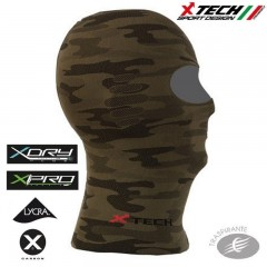 Passamontagna Sotto casco X-TECH XT106 Made in Italy 100% TRASPIRANTE Outdoor