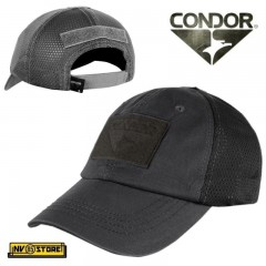 CAPPELLO BERRETTO MESH CONDOR TACTICAL CAP ORIGINALE US ARMY MILITARE SOFTAIR BK